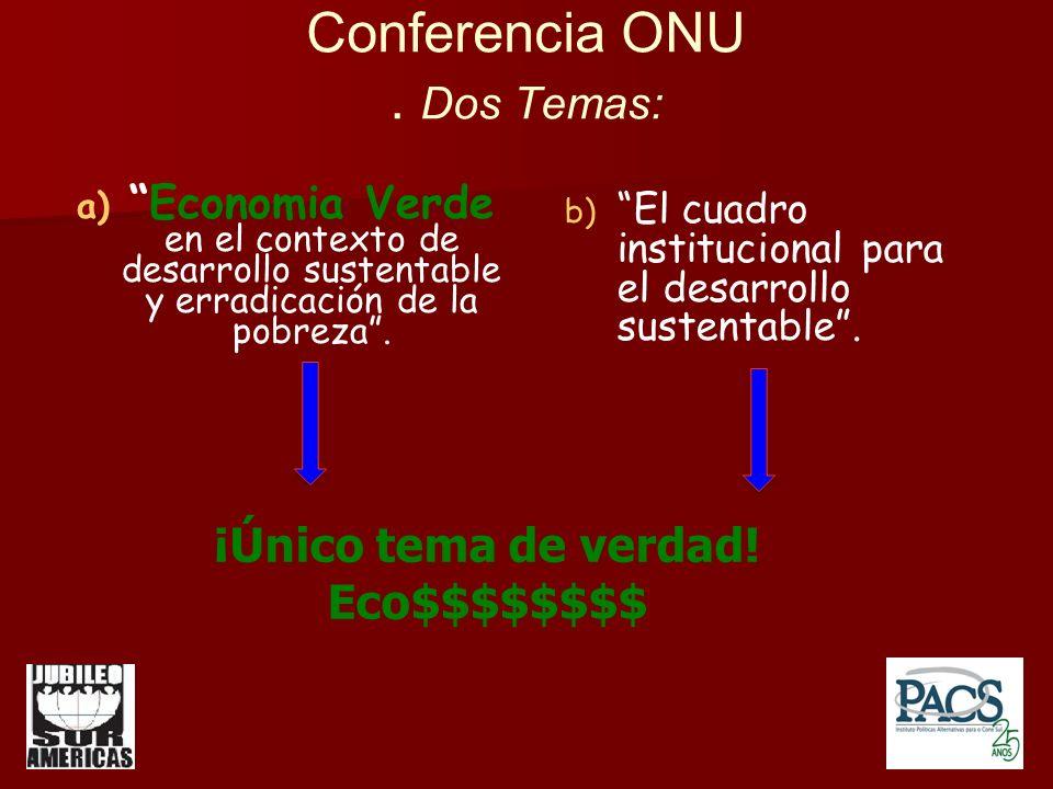Conferencia ONU.