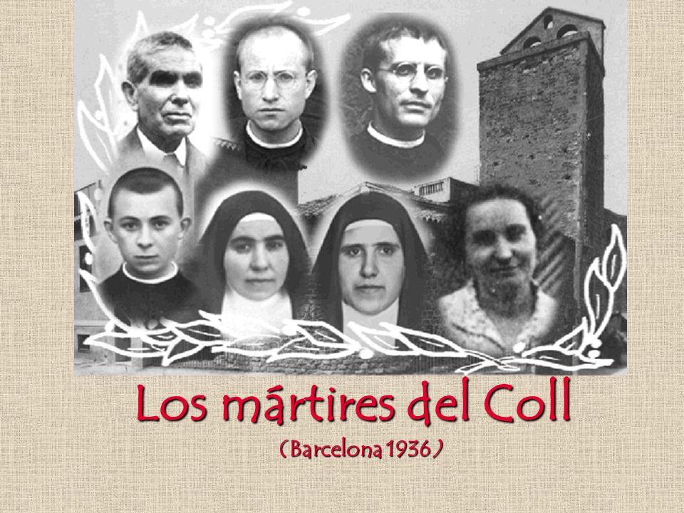 Los mártires del Coll (Barcelona 1936)