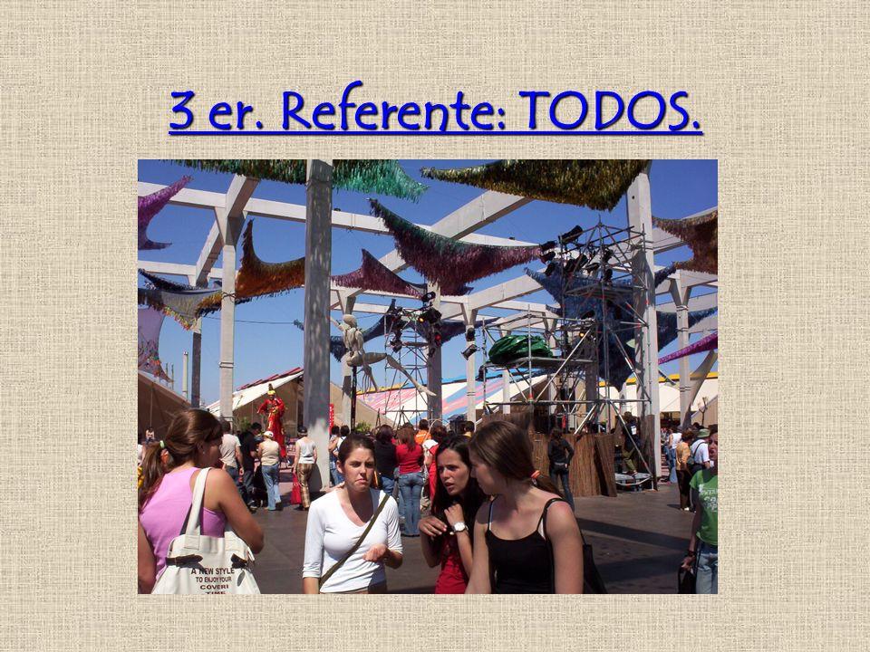 3 er. Referente: TODOS.