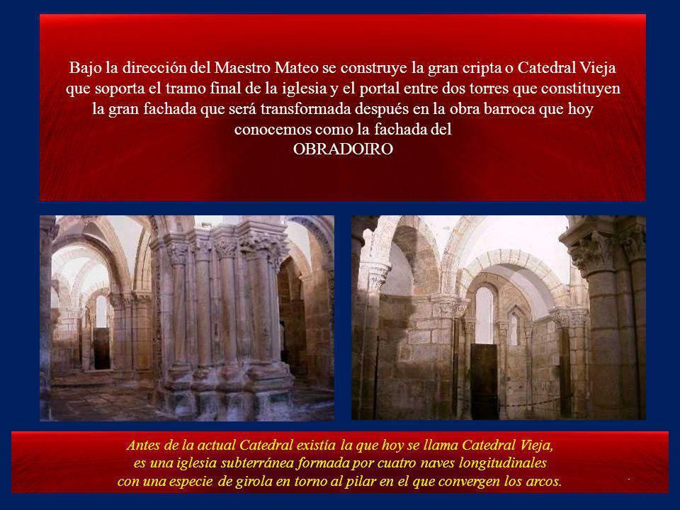 Santiago de Compostela. Ésta presentación es una visita guiada a la Catedral de Santiago y un pequeño recorrido nocturno por las rúas de Compostela La
