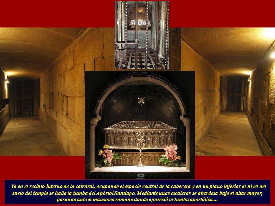 ... esta capilla esta presidida por San Estebán, patrono de los azabacheros, que tenían sus talleres en la plaza adyacente y que aun hoy en día siguen