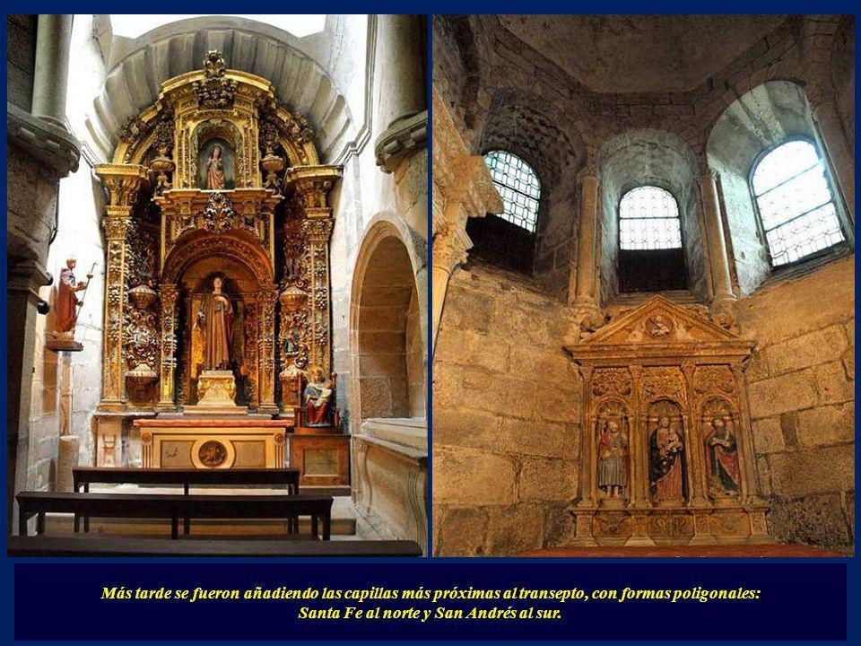 ... esta girola está rodeada de capillas, obra en la primera fase de Bernardo-Peláez.