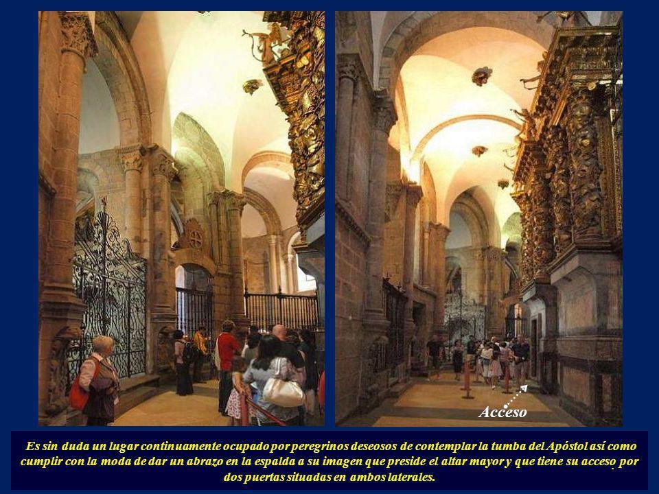 Más tarde se fueron añadiendo las capillas más próximas al transepto, con formas poligonales: Santa Fe al norte y San Andrés al sur.