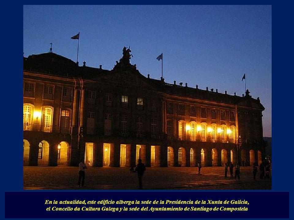 El Palacio de Rajoi construido en el siglo XVIII de estilo neoclásico. Es obra del ingeniero francés Charles Lemaur y lo diseñó para albergar un semin