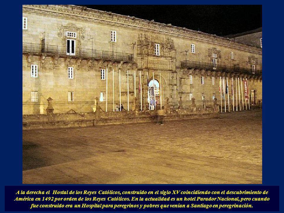 En la actualidad, este edificio alberga la sede de la Presidencia de la Xunta de Galicia, el Concello da Cultura Galega y la sede del Ayuntamiento de