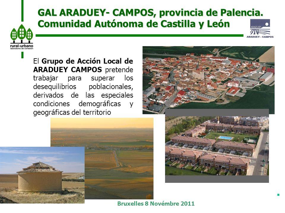 Bruxelles 8 Novémbre 2011 GAL ARADUEY- CAMPOS, provincia de Palencia.