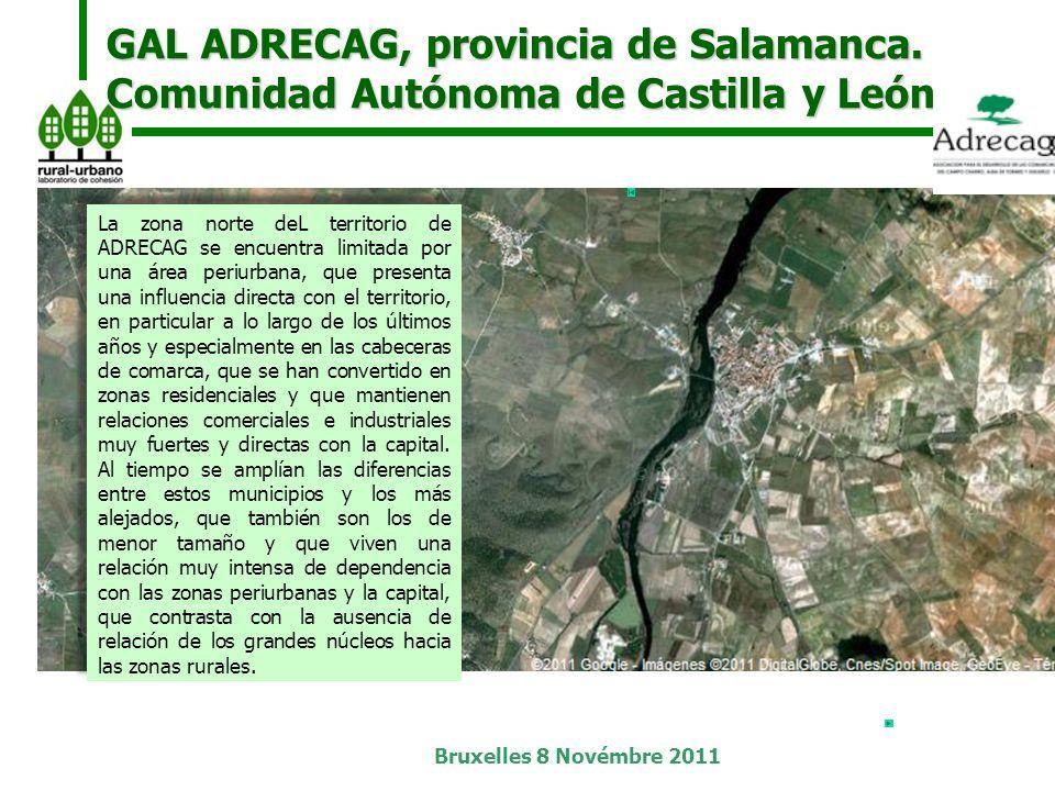 Bruxelles 8 Novémbre 2011 GAL ADRECAG, provincia de Salamanca.
