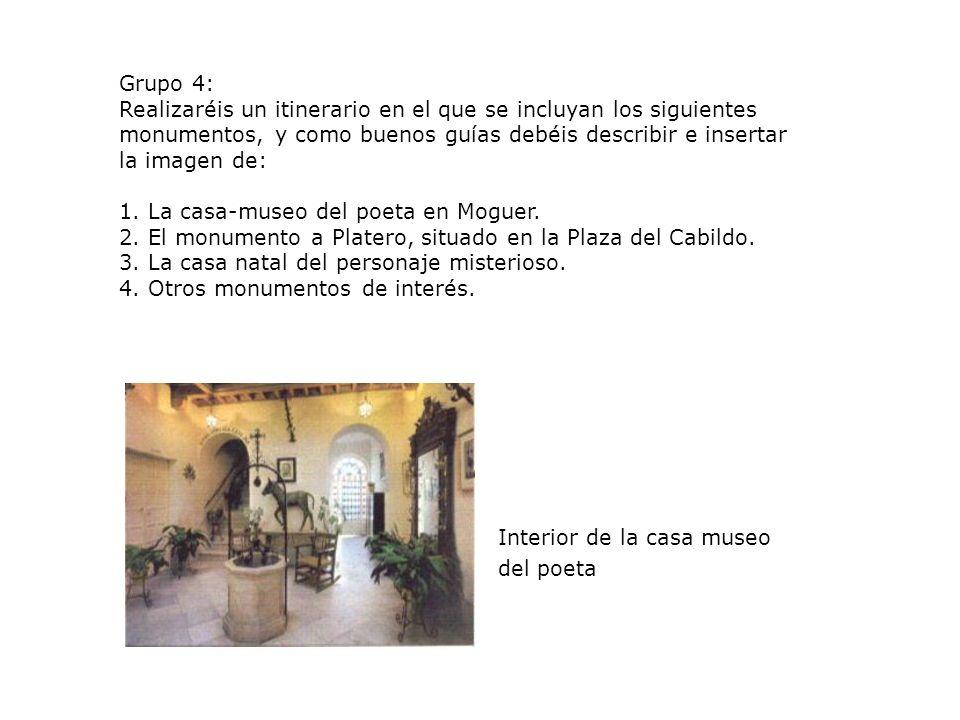 RECURSOS: La información necesaria para realizar la tarea la encontraréis en las siguientes direcciones: http://www.acamfe.org/autor/jrjimenez.htm http://www.epdlp.com/escritor.php?id=1868 http://www.jaserrano.com/JRJ http://www.juntadeandalucia.es/jrj/com http://www.fundacion-jrj.es/ http://www.dartmouth.edu/spanmod/modulos/platero/lec.html http://www.dartmouth.edu/spammod/modulos/platero/bio.html http://www.rrppnet.com.ar/redaccionyestilo.htm