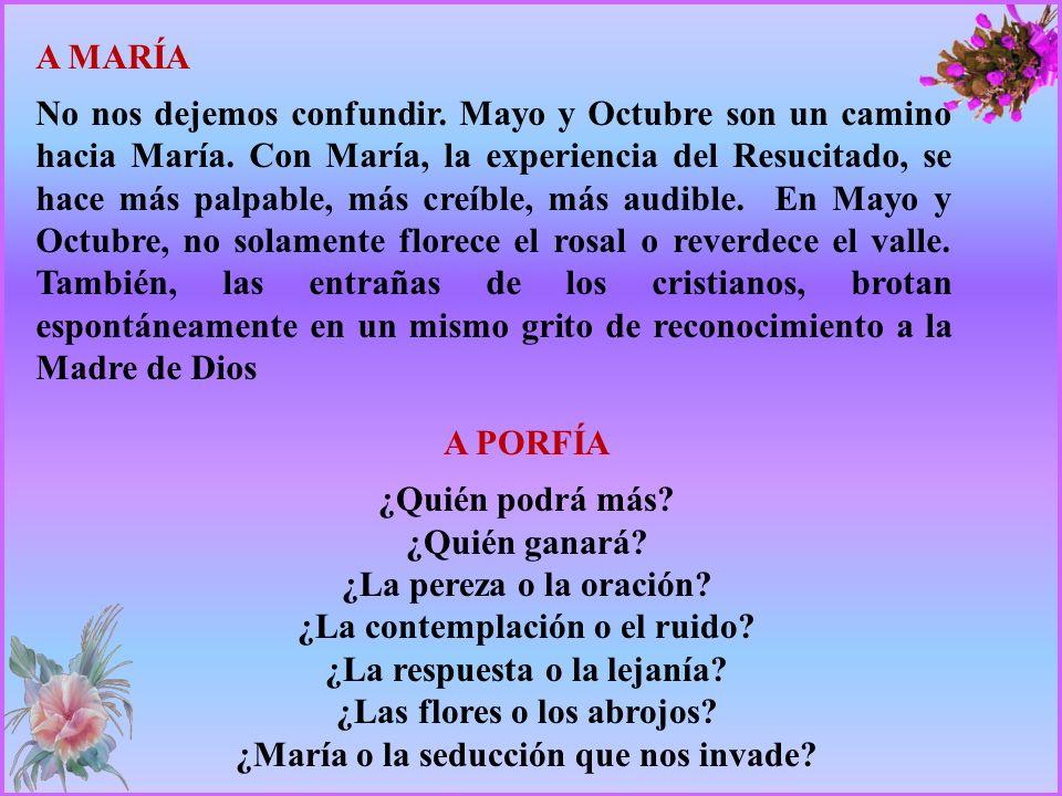 TODOS Porque, María, desde la cruz se convirtió en Madre de todos los hombres.