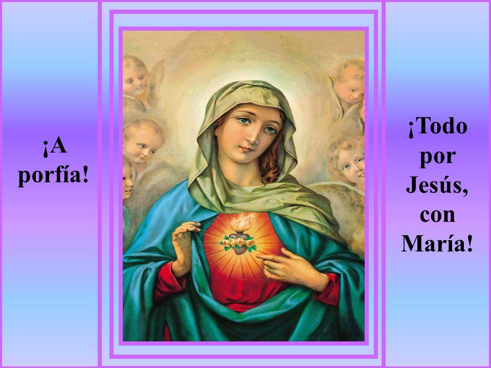 A MARÍA No nos dejemos confundir. Mayo y Octubre son un camino hacia María.