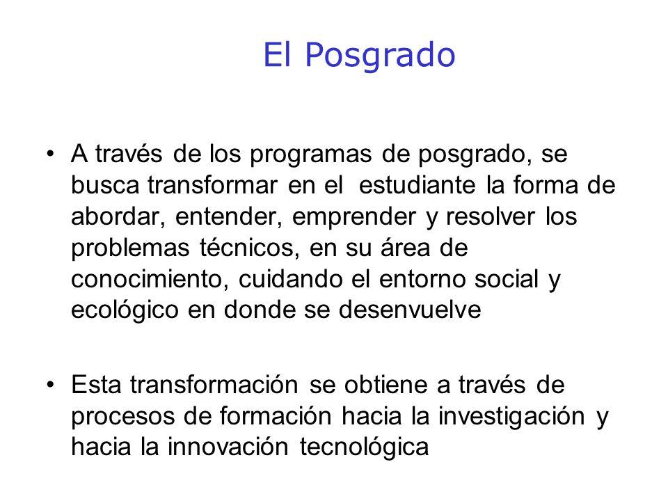 Agenda Estratégica 2005-2006 Posgrado Becas 17 6037 259 20062005 Total: 46 85