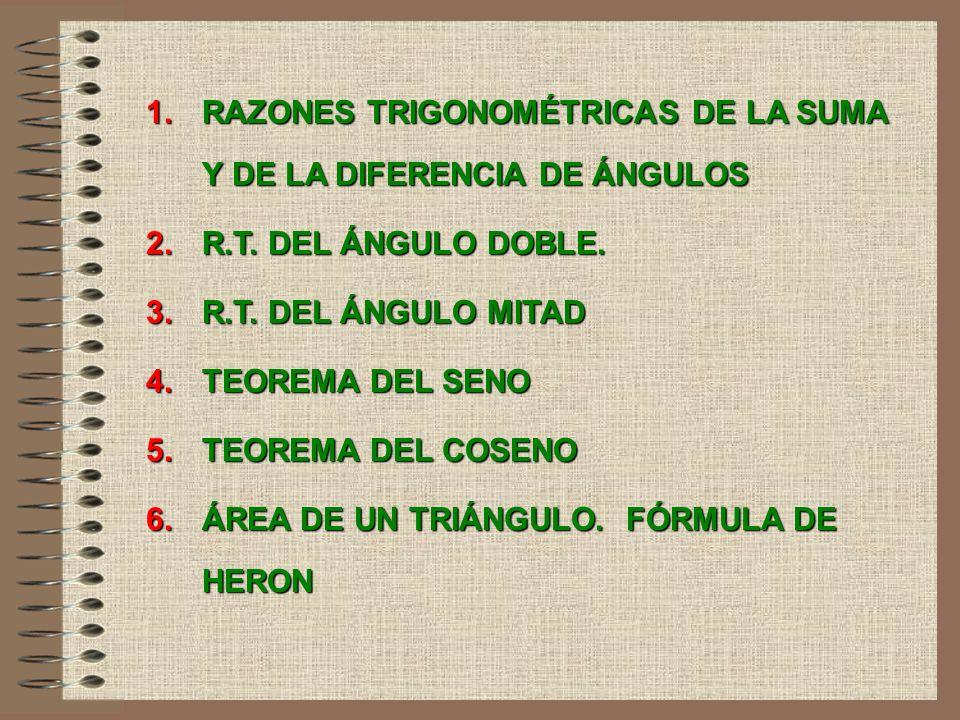52 INTRODUCCIÓN Trigonometría significa, etimológicamente, medida de triángulos. En los trabajos topográficos y de la construcción es necesario conoce