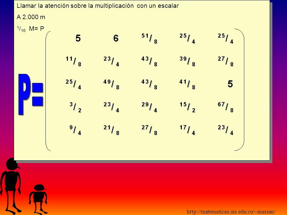 http://matematicas.uis.edu.co/~marsan/ Temporada Húmeda (R) M= Matriz Original 1 / 22 M=R Temporada Húmeda (R) M= Matriz Original 1 / 22 M=R