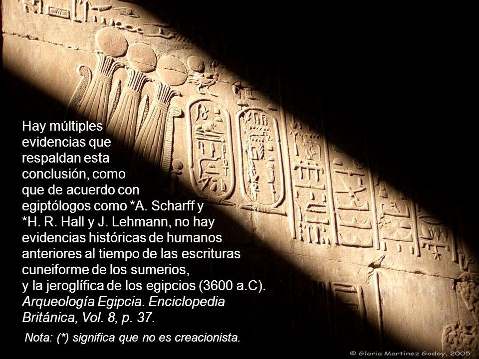 Hay múltiples evidencias que respaldan esta conclusión, como que de acuerdo con egiptólogos como *A.