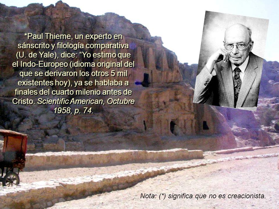 *Paul Thieme, un experto en sánscrito y filología comparativa (U.