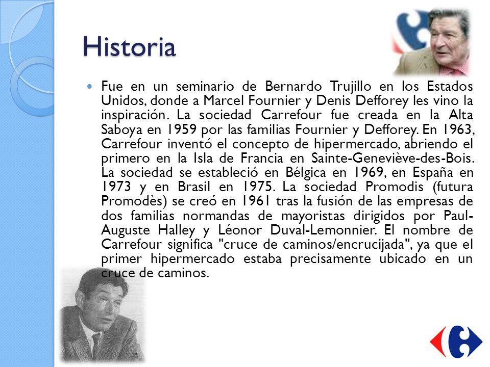 Historia Fue en un seminario de Bernardo Trujillo en los Estados Unidos, donde a Marcel Fournier y Denis Defforey les vino la inspiración. La sociedad