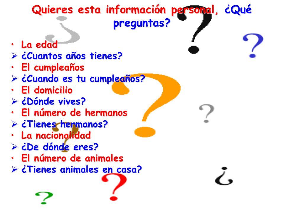 Rellena el cuadro con las partes del verbo (Fill in the blanks with the correct form of the verb) Llamarse~ to be called Ser ~ to beTener ~ to have Yo (I)Me llamo (I am called) Soy (I am) Tengo (I have) él / ella (he/she) 123 Ellos/ellas (they) Se llaman (they are called) 4 Tienen (they have)