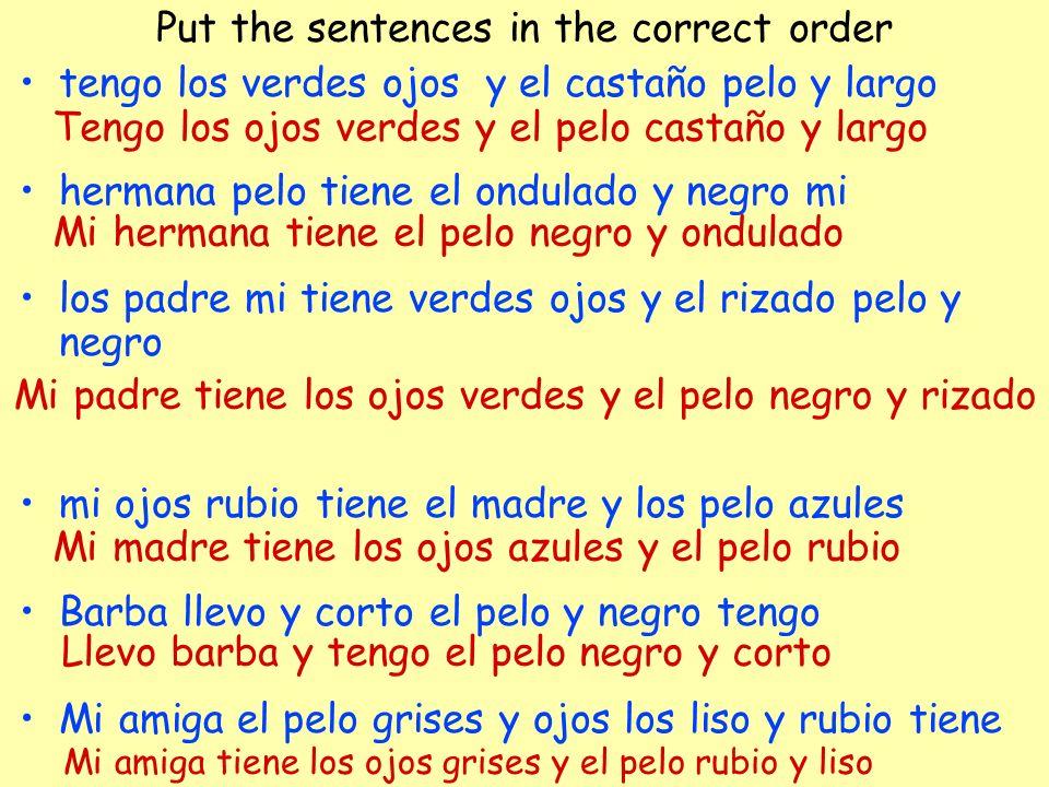 Adivina el inglés con los imágenes