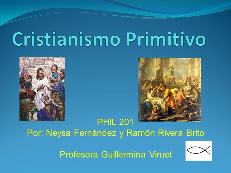 PHIL 201 Por: Neysa Fernández y Ramón Rivera Brito Profesora Guillermina Viruet