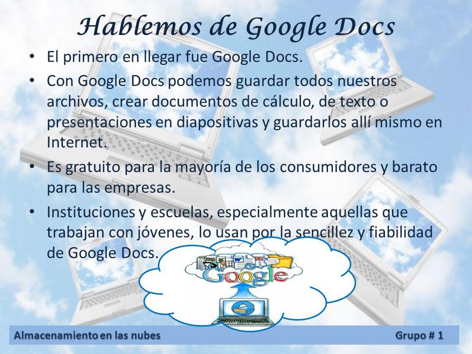 Otras aplicaciones iCloud: desarrollado por Apple Inc. Dropbox: desarrollado por Dropbox Google Docs: Desarrollado por Google Campaign Cloud: desarrol