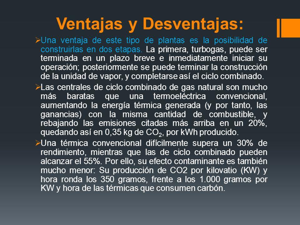 Ventajas y Desventajas: Una ventaja de este tipo de plantas es la posibilidad de construirlas en dos etapas.