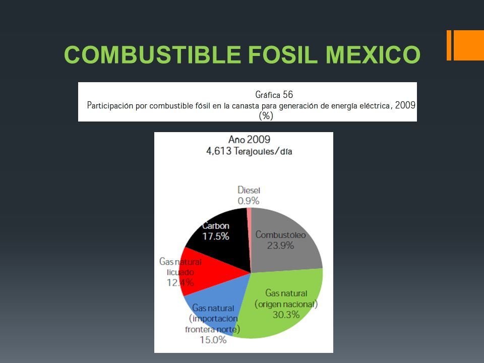 COMBUSTIBLE FOSIL MEXICO
