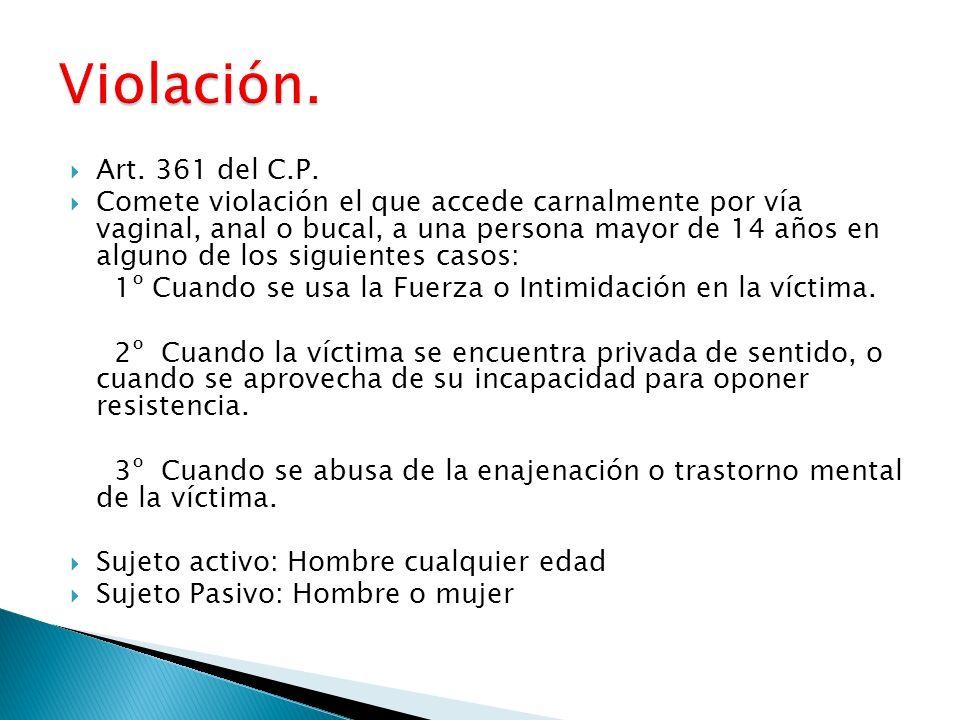 Art.361 del C.P.