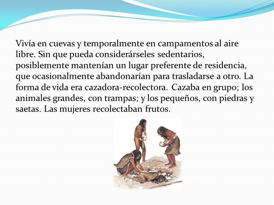El Hombre de Cro-Magnon se asoció desde su descubrimiento a la industria lítica denominada Auriñaciense Rascador Cuchillas del Auriñaciense Punta de hueso.
