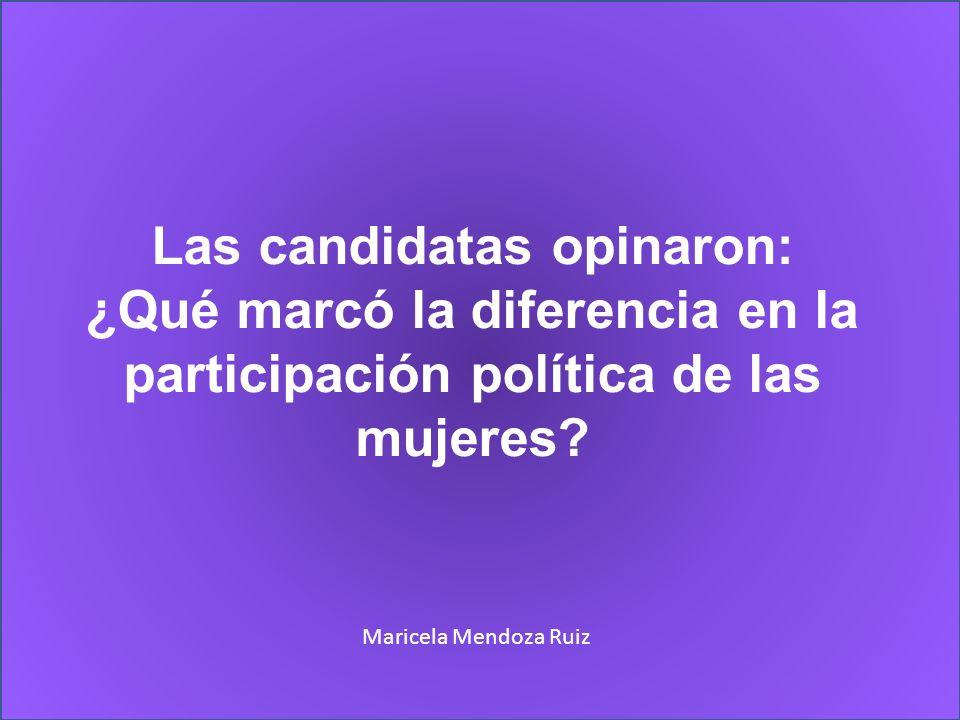 Las candidatas opinaron: ¿Qué marcó la diferencia en la participación política de las mujeres.
