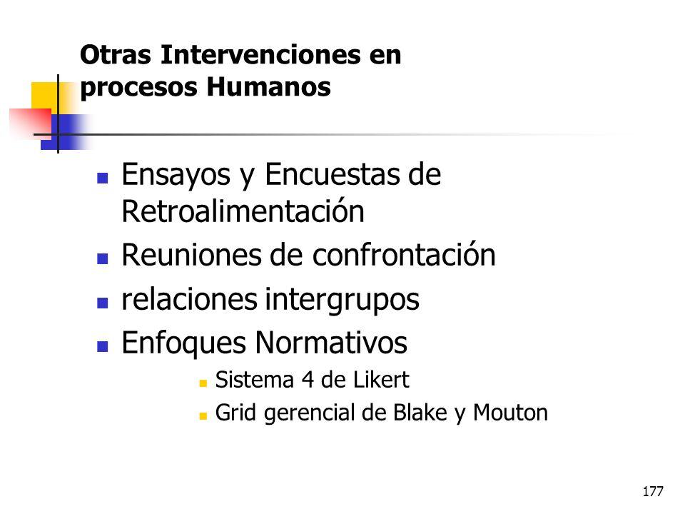 176 Equipos de trabajo autodirigidos ETA Beneficios de los ETA Contar con personal altamente comprometido con la empresa Responde con mayor eficacia a