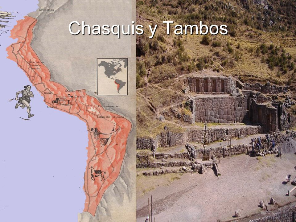 Chasquis y Tambos