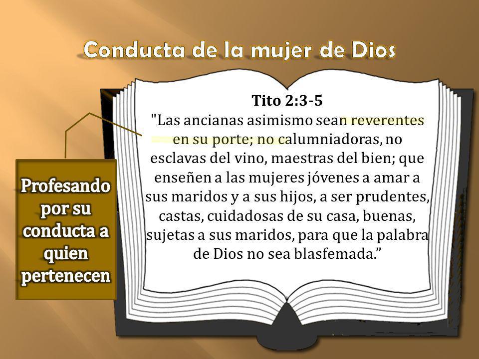 Tito 2:3-5