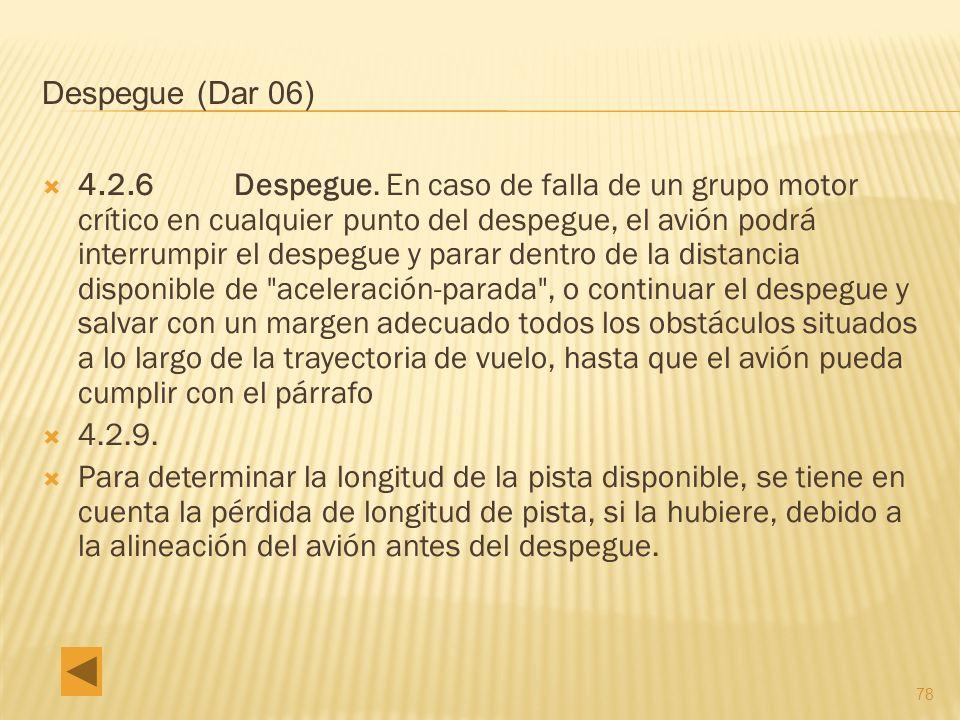 78 Despegue (Dar 06) 4.2.6 Despegue.