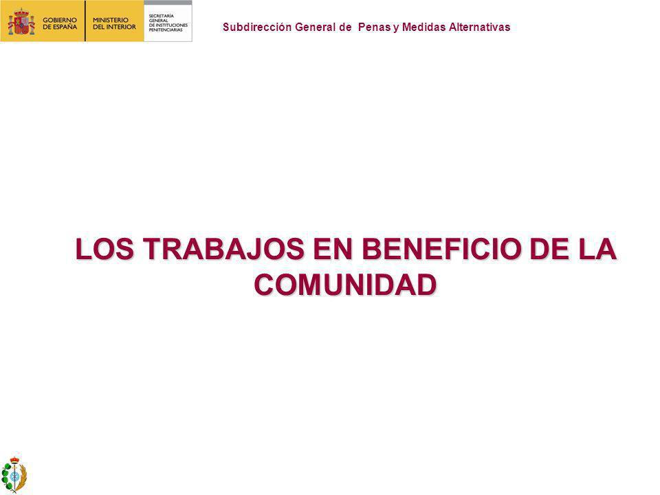 La pena de trabajo en beneficio de la Comunidad (Artículo 49 del C.