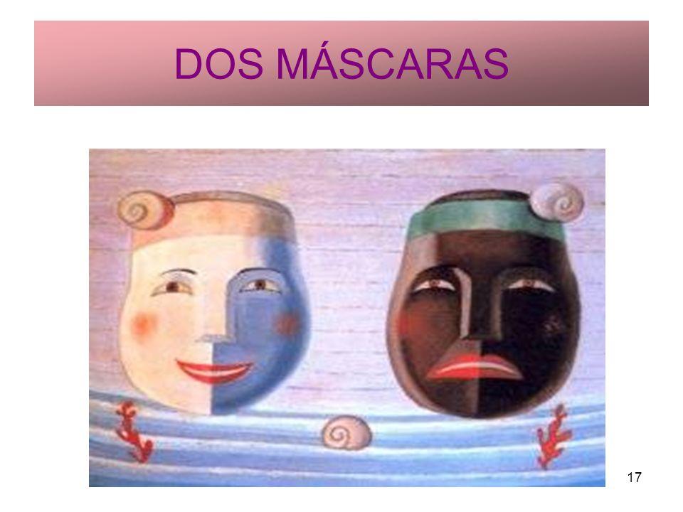 Rosario Roldán Ruiz17 DOS MÁSCARAS