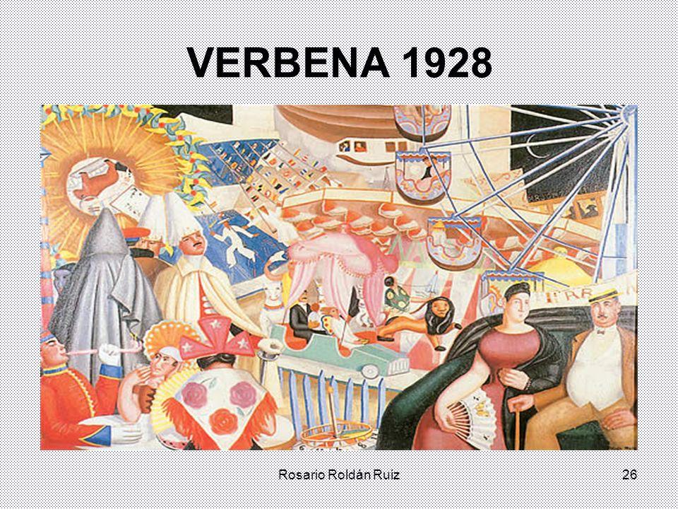 Rosario Roldán Ruiz26 VERBENA 1928