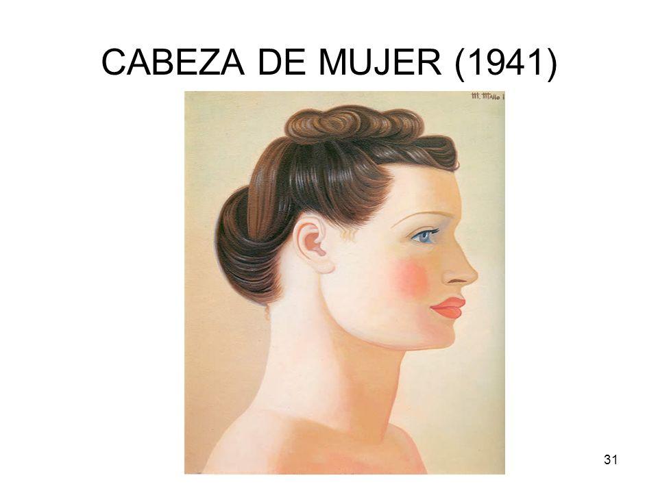 Rosario Roldán Ruiz31 CABEZA DE MUJER (1941)