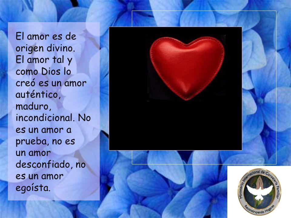 El matrimonio es una institución creada por Dios.
