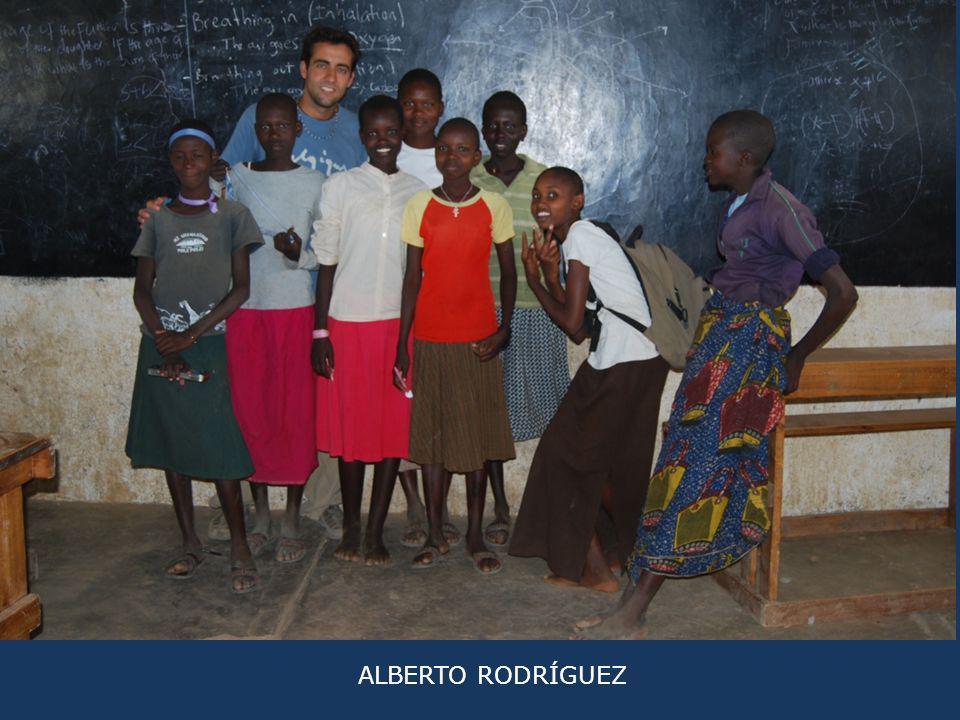 ALBERTO RODRÍGUEZ CAMPAÑA 2011 Y 2012 Fui con la idea de ser de gran ayuda para Turkana, y después de un mes increíble lleno de experiencias, volví dándome cuenta de que Turkana me había aportado aún más a mí.