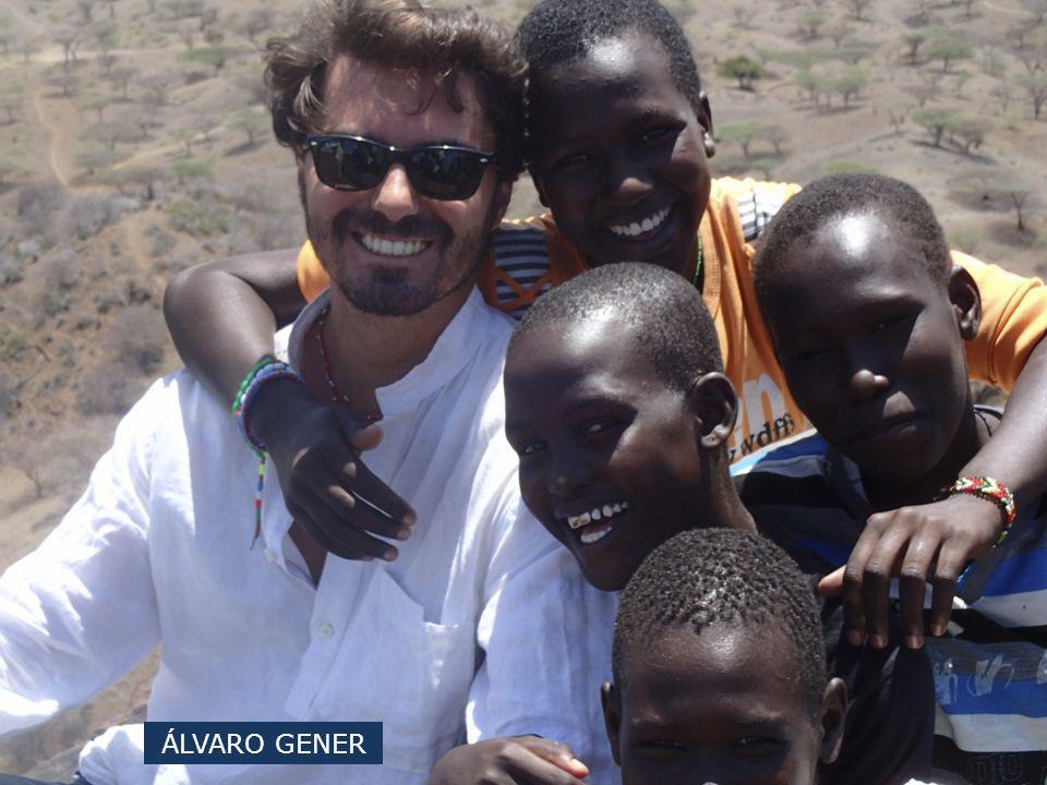 ALVARO GENER CAMPAÑA 2013 Ir al Centro Saint Patrick en Turkana es recibir el cariño y el amor de unas personas, en especial de las niñas, que no teniendo nada, te lo dan todo.