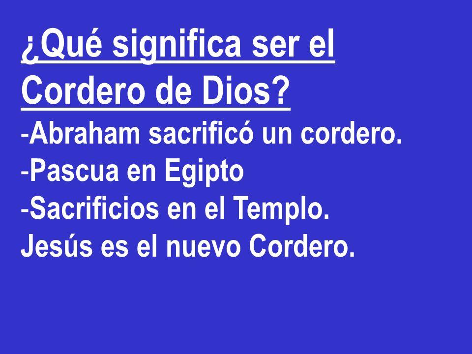 Jesús es el Cordero inmolado, que llama a dar Vida DISTINTA ¿Por qué nosotros damos tanta muerte?