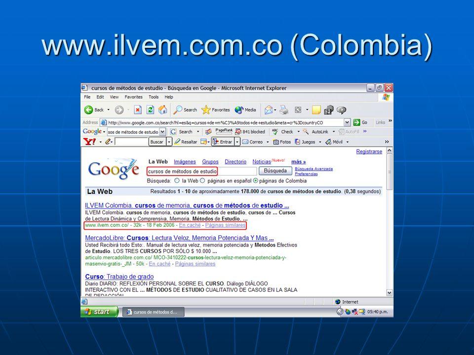 www.ilvem.com.co (Colombia)