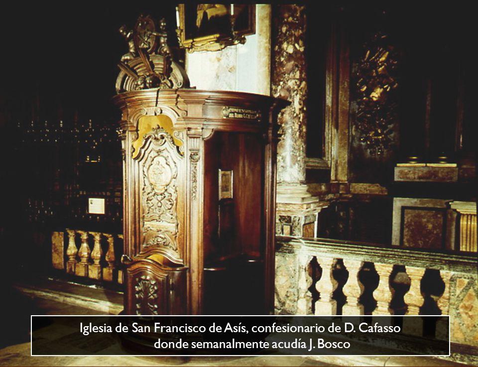 Altar del Ángel Custodio en la Iglesia de San Francisco de Asís donde Don Bosco celebró la primera Misa