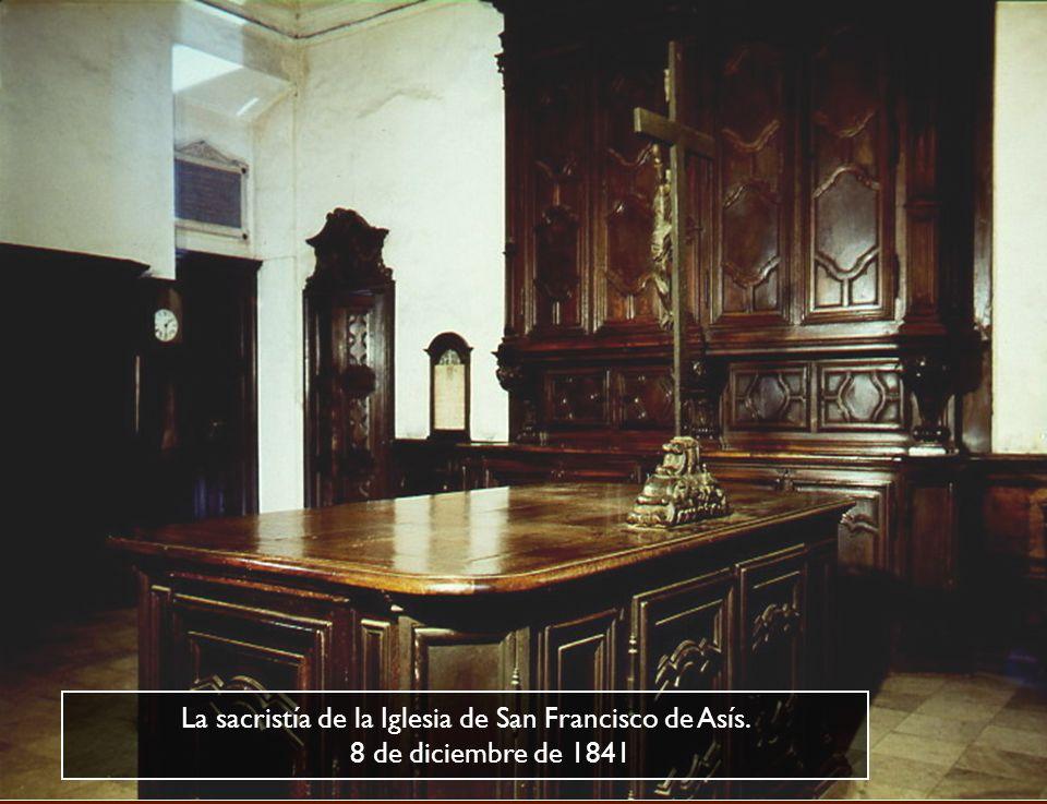 Iglesia de San Francisco de Asís, confesionario de D. Cafasso donde semanalmente acudía J. Bosco