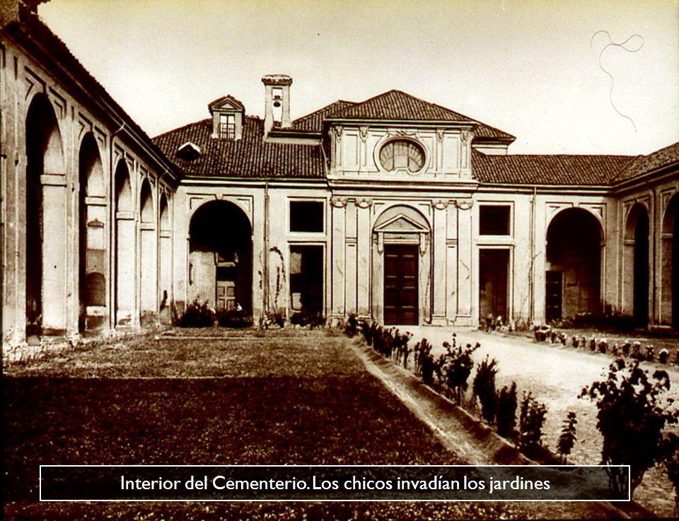 La Iglesia del Cementerio de S. Pietro in Vincoli