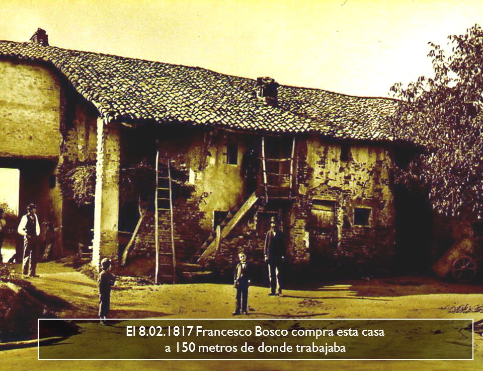La Cascina Moglia donde encontró refugio Juan Bosco a prova