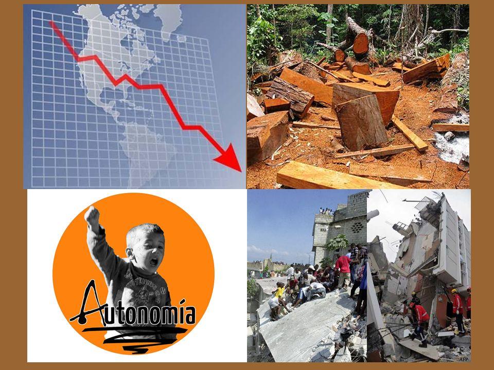 Las catástrofes de Haití y Chile El reduccionismo antropológico de las reformas educativas El incremento de las actividades extractivas de la naturale