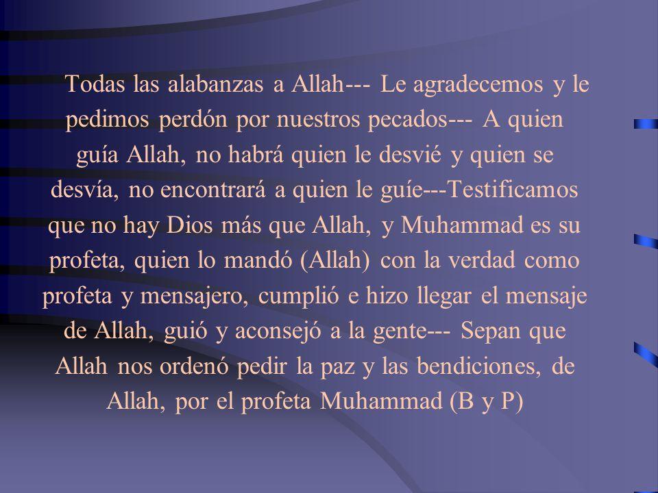 EN LA TUMBA Dijo el Profeta Muhammad (B y P): cuando alguien pasa por la tumba de un creyente conocido para él, y le saluda, el difunto le reconocerá