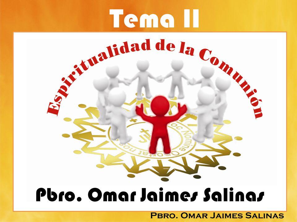EL PAPA JUAN PABLO II NOVO MILLENIO INEUNTE 43: ANTES DE PROGRAMAR INICIATIVAS CONCRETAS, HACE FALTA PROMOVER UNA ESPIRITUALDAD DE LA COMUNIÓN, PROPONIENDOLO COMO PRINCIPIO EDUCATIVO EN TODOS LOS LUGARES DONDE SE FORMA EL HOMBRE Y EL CRISTIANO,DONDE SE EDUCAN LOS MINISTROS DEL ALTAR, LAS PERSONAS CONSAGRADAS Y LOS AGENTES DE PASTORAL, DONDE SE CONSTRUYEN LAS FAMILIAS Y LAS COMUNIDADES