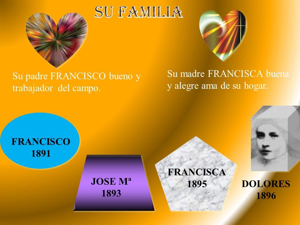 Nació en Bonares (Huelva) el 9 de noviembre de 1896, en una familia humilde y cristiana.